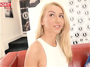 Katrin Tequila boinked hardcore on her first audition