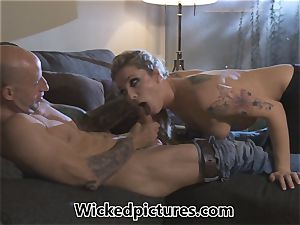 Rampant role play for Bailey Blue and a hot fellow