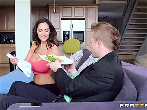 Ava Addams is ravaged in both her wet crevices