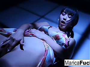 asian pornstar Marica gets nude