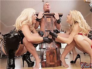 spunky Ms. Alexis Fawx dominates her fresh enslaved
