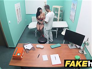 fake clinic toilet room blow-job and smashing
