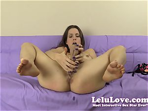 subordinated first-timer dame spanks herself and fuck stick poke