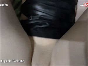 My dirty hobby - allegiance tears up in latex top