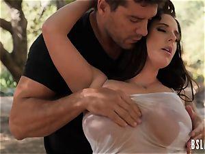 nasty pornstar boned in outdoors