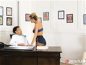 bootie sticking with Jessa Rhodes in Xanders office