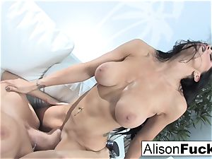 Alison and Romi screw for the very first time
