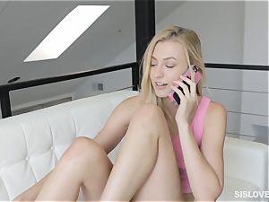 Alexa mercy throating off her bro