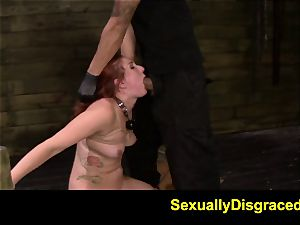 FetishNetwork Rose red corded at sybian