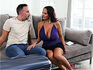 Sleeping wifey gets cucked by a spectacular milf
