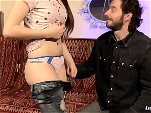 LA new-cummer - French teenager drizzles in hardcore tear up