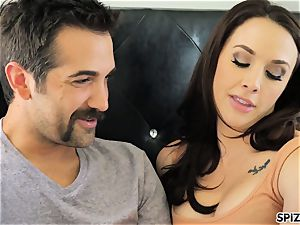 Spizoo - witness Chanel Preston throating and boning