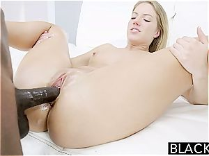 BLACKED Candice Dare butt screwed by meaty dark-hued trouser snake