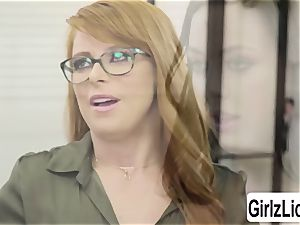scorching Therapist Penny Pax gets her cunny penetrated by client Whitney Wrights