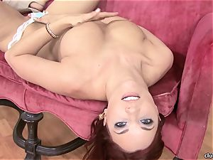 Jayden Cole whips out her tasty round mounds