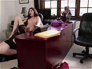 teacher Sovereign Syre has sapphic fuckfest with her pupil