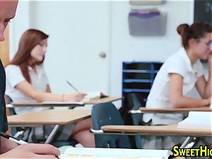 pigtails highschool teen