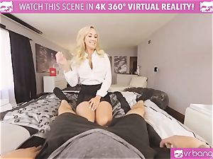 VRBangers.com-MILF is catapulting a massager in her cunt