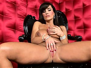 mind-blowing Lisa Ann unsheathes her giant sugary-sweet hooters