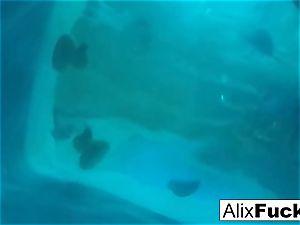 Underwater hidden camera girl-on-girl joy