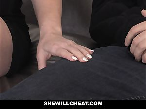 SheWillCheat red-hot wifey Cheats with hubbies partner