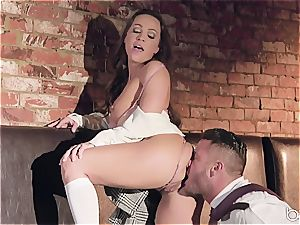 Abigail Mac sings well but she drills nicer