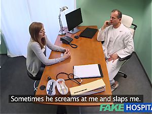FakeHospital doc creampies beautiful taut muff